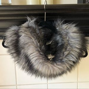 Michael Kors Fur Neck Warmer. New, never used.